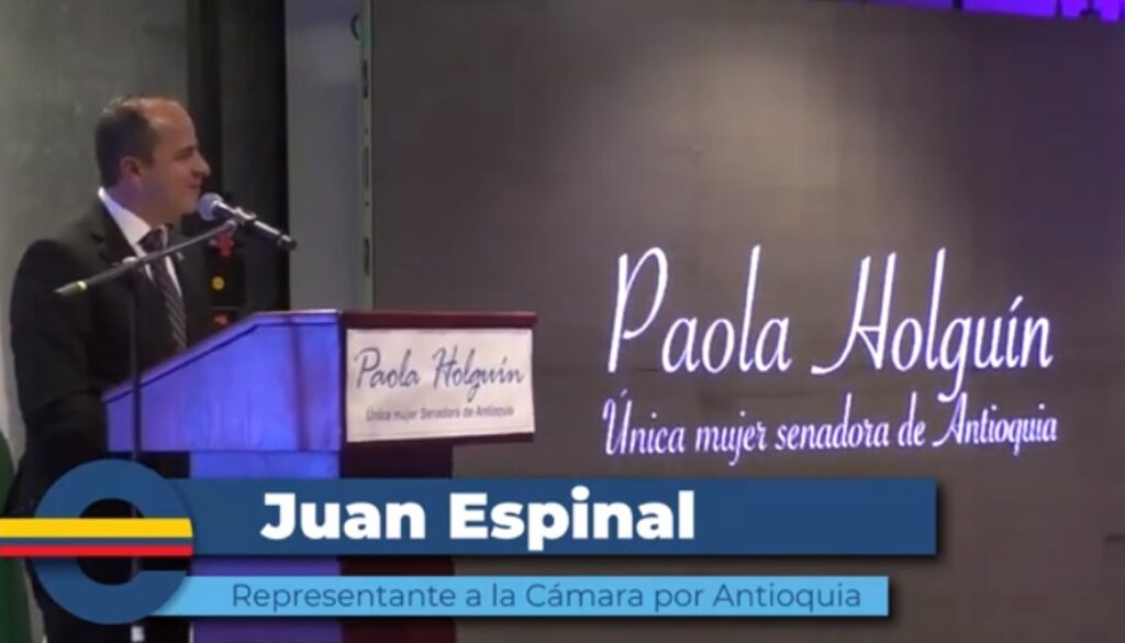 Juan Espinal homenaje