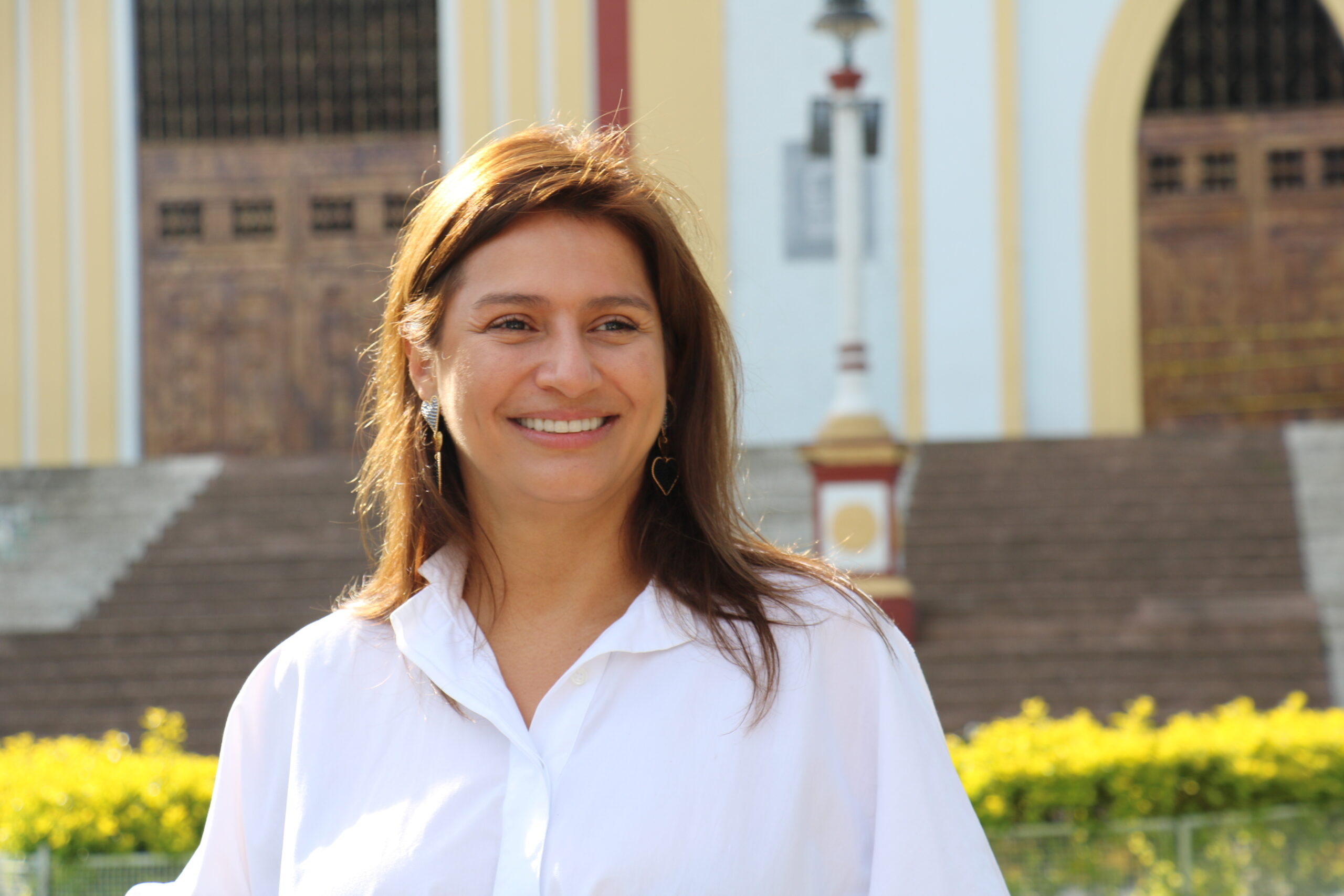 Paola Holguín en Santa Rosa de Cabal