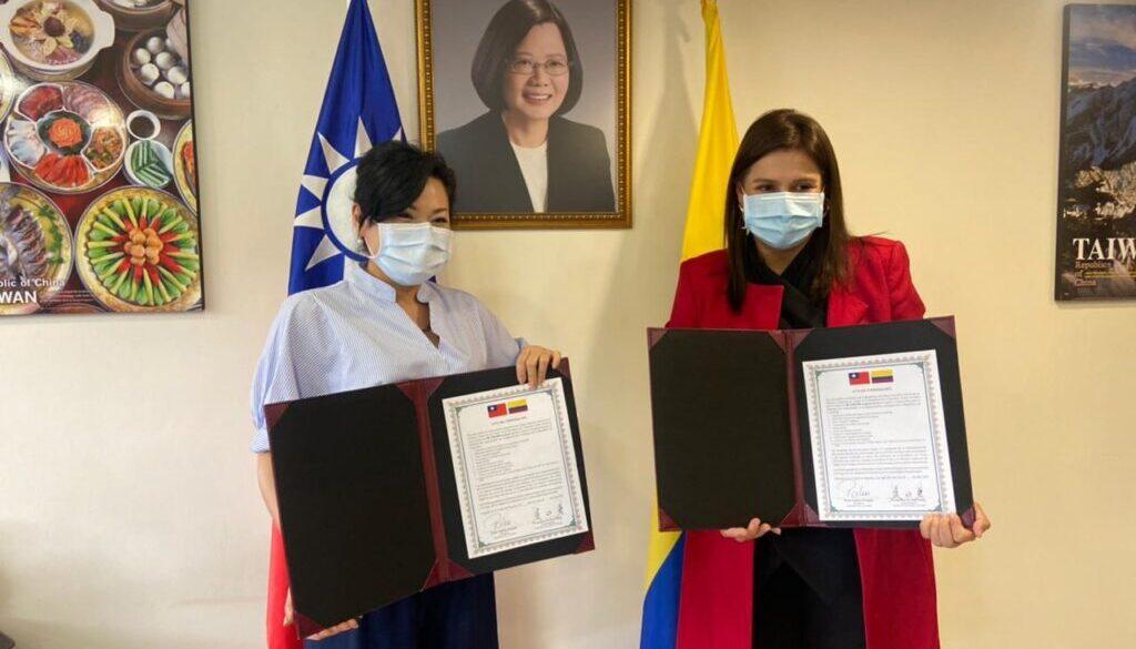 Fundaciones antioqueñas reciben donación del Gobierno de Taiwán